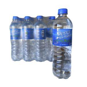"""Agua Mineral """"SIERRA DE LOS PADRES"""" SIN GAS pack 12×600 ml"""