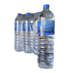 """Agua Mineral """"SIERRA DE LOS PADRES"""" SIN GAS pack 6×1,5 lt"""