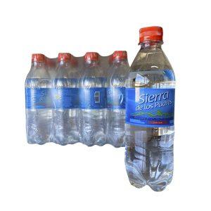 "Agua CON GAS ""SIERRA DE LOS PADRES"" pack 12×500 ml"