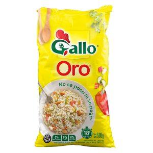 """Arroz """"GALLO ORO"""" x 500 gr"""