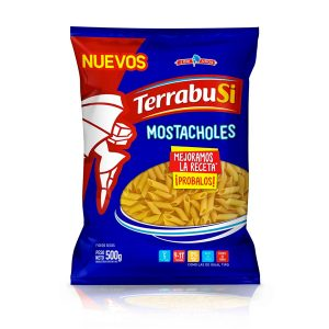 "Fideos Mostacholes ""TERRABUSI"" x 500 gr"