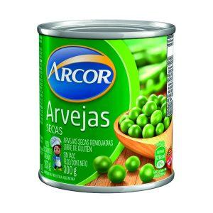 """Arvejas Secas """"ARCOR"""" lata x 300 gr"""