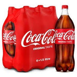 COCA COLA X Botella 1,5 lt