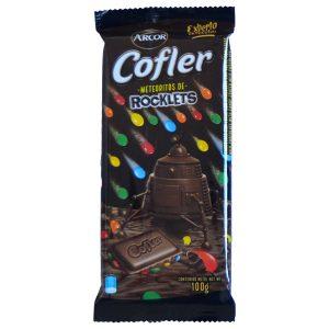 "Chocolate con Leche con Rocklets ""COFLER"" x 100 grs"