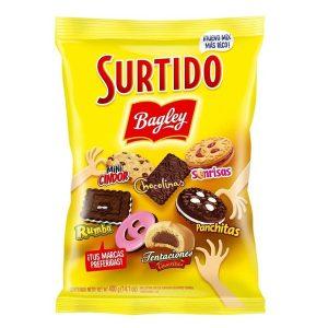 """Galletitas Surtido """"BAGLEY"""" x 400 grs"""