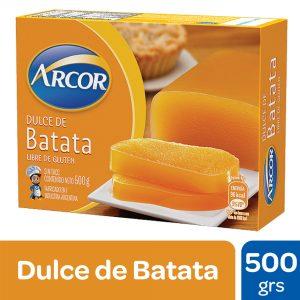 "Dulce de BATATA ""Arcor"" x 500 grs"