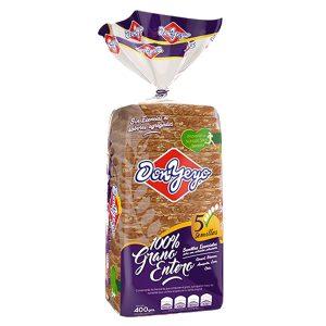"""Pan de harina integral y semillas""""DON YEYO"""" x 400 grs"""