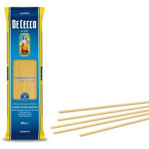 """Spaghetti """"DE CECCO"""" x 500grs"""