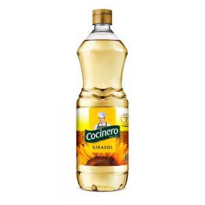 """Aceite de Girasol """"COCINERO"""" x 900ml"""