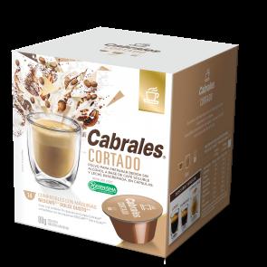 """Cafe en Capsulas """"CABRALES"""" CORTADO x 14u"""