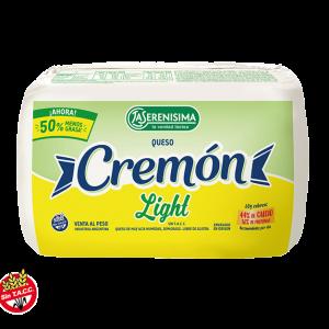 "Queso ""CREMON"" Light x 450/500 grs"