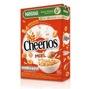 """Cereales """"CHEERIOS"""" Miel x 210 grs."""