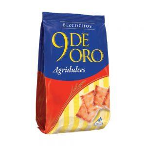 """Bizcochos Agridulces """"9 DE ORO"""" x 200 grs"""