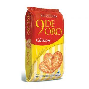 """Bizcochos de Grasa """"9 DE ORO"""" x 200 grs."""