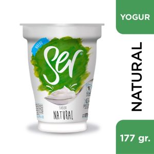 "Yogur ""SER"" Natural x 177 grs"