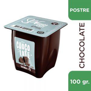 "Postrecito ""SER"" Chocolate x 100grs"