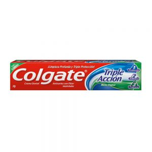 "Pasta Dental ""COLGATE"" Triple Accion x 90 grs"