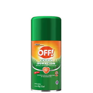 "Repelente para Mosquitos Aerosol ""OFF!"" Extra Duración x 165 cc"