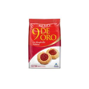 """Pepas Con Membrillo """"9 DE ORO"""" x 300 grs"""