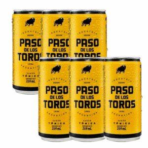 "Agua Tonica ""PASO DE LOS TOROS"" Lata Pack 6 x 269 ml"