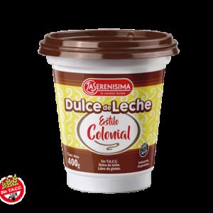 "Dulce de Leche ""LA SERENSIMA"" Estilo Colonial x 400 grs"
