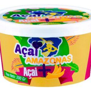 """Acai """"AMAZONAS"""" Con Banana x 200 grs"""