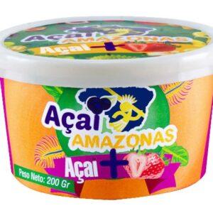 """Acai """"AMAZONAS"""" Con Frutilla x 200 grs"""