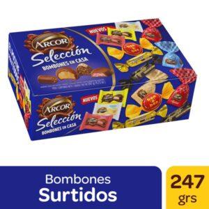 """Bombones Surtidos """"ARCOR"""" Selección x 247 grs"""