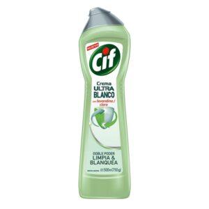 "Limpiador ""CIF"" Crema Ultra Blanco x 500 ml"