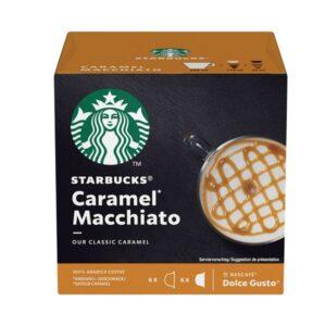 """Cafe en Capsulas """"STARBUCKS"""" Caramel Macchiato x 12 un"""