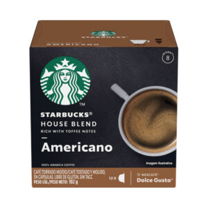 """Cafe en Capsulas """"STARBUCKS"""" Americano x 12 un"""