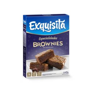 """Brownies de Chocolate """"EXQUISITA"""" x 425 grs"""