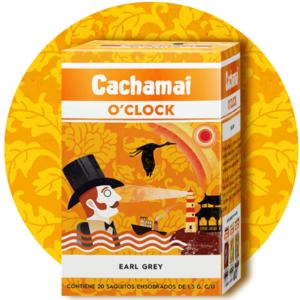 "Te Earl Grey ""CACHAMAI O'CLOCK"" x 50 saquitos"