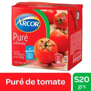 "Pure de Tomate ""ARCOR"" x 520 grs"